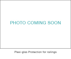 Plexi-glas Protection for railings