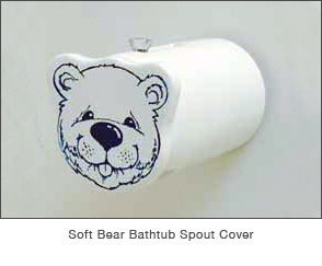 Soft Bear Bathtub Spout Cover
