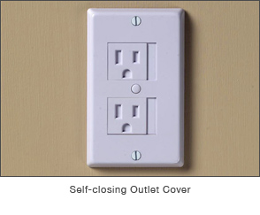 Self-Closing Outlet Cover