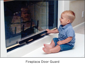 Fireplace Door Guard