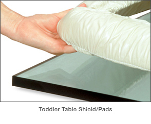 Toddler Table Shield Pad