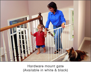 Hardware Mount Gate
